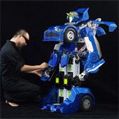 Nhật sản xuất robot biến hình như Transformer
