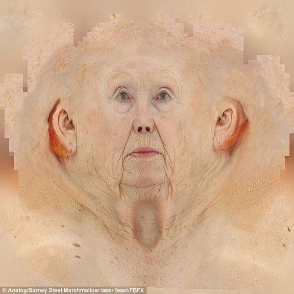 """Tái tạo mặt người y như thật qua """"thuật dị dung 3D"""""""