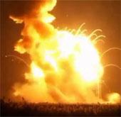 Tên lửa NASA nổ tung sau sáu giây rời bệ phóng