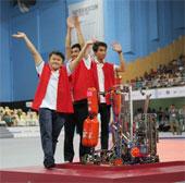 Ba chàng trai vô địch Robocon châu Á - Thái Bình Dương