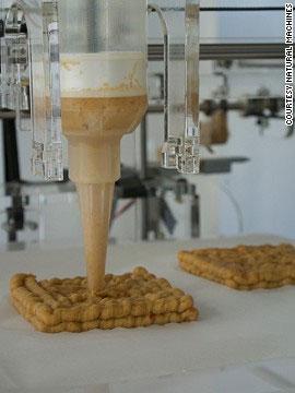 Foodini - Máy in 3D giúp bạn 'in' thức ăn tươi ngon