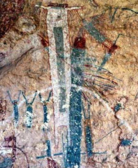 Tranh vẽ trên đá