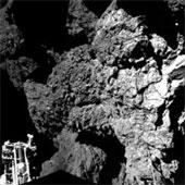 Robot Philae gửi tín hiệu từ sao chổi về trái đất