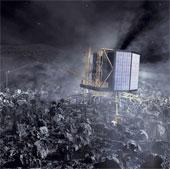 """Robot Philae rơi vào trạng thái """"ngủ đông"""""""