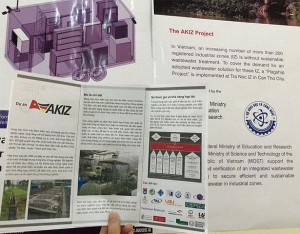 Trạm phân tích nước thải di động đầu tiên tại Việt Nam