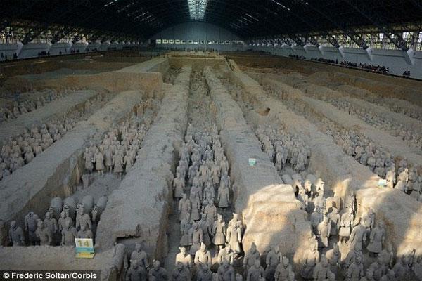 Phát hiện mới về đội quân đất nung trong lăng mộ Tần Thủy Hoàng