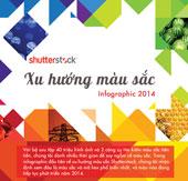 Xu hướng màu sắc 2014 - Thống kê từ Shutterstock