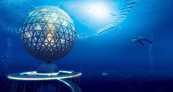 Thành phố dưới nước tương lai của Nhật