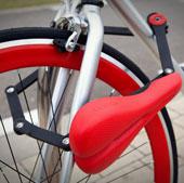 Khóa chống trộm xe đạp bằng yên độc đáo