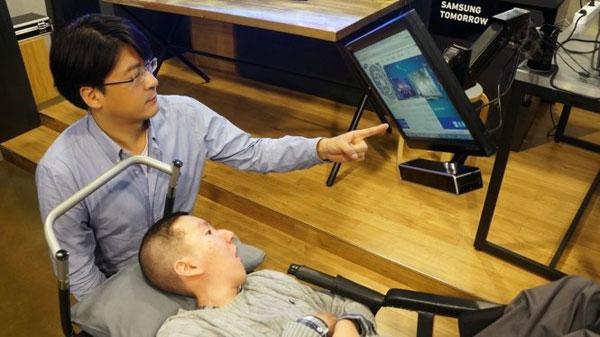 Samsung phát triển chuột vi tính điều khiển bằng mắt