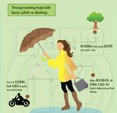 """Tuyệt chiêu """"hỏa tốc"""" giúp bạn vượt qua ngày mưa bão"""