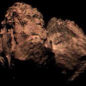 Bức ảnh màu đầu tiên của sao chổi được chụp bởi tàu Rosetta