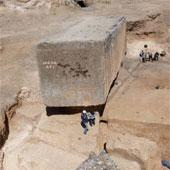 Phát hiện khối đá cổ đại lớn nhất do con người đẽo