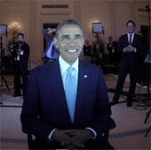 Video: Tạo chân dung tổng thống Obama bằng máy in 3D