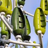Cây nhân tạo phát điện nhờ sức gió