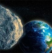 Thiên thạch to như núi có thể đâm trúng trái đất