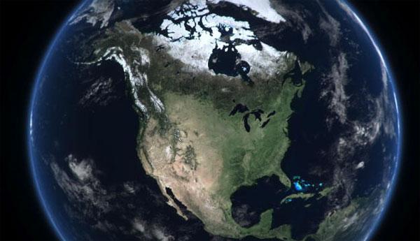 Giải mà cấu trúc địa chất bí ẩn tại Mỹ