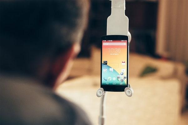 Phát triển smartphone cảm ứng không cần chạm
