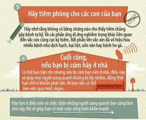 Cách đơn giản để tránh xa cảm cúm