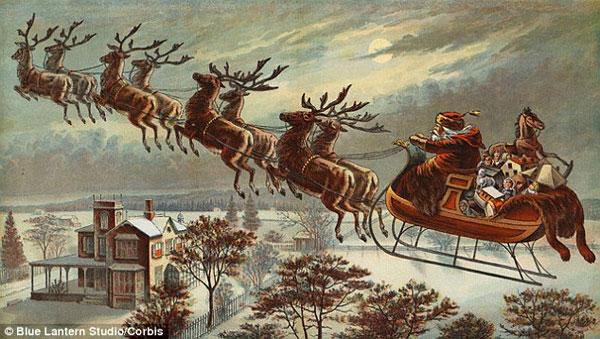 Ông già Noel cần vượt qua những gì để có thể phát quà đêm Giáng Sinh?