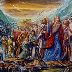 """Giả thuyết về việc """"Moses tách nước ở biển Đỏ cứu dân Do Thái"""""""