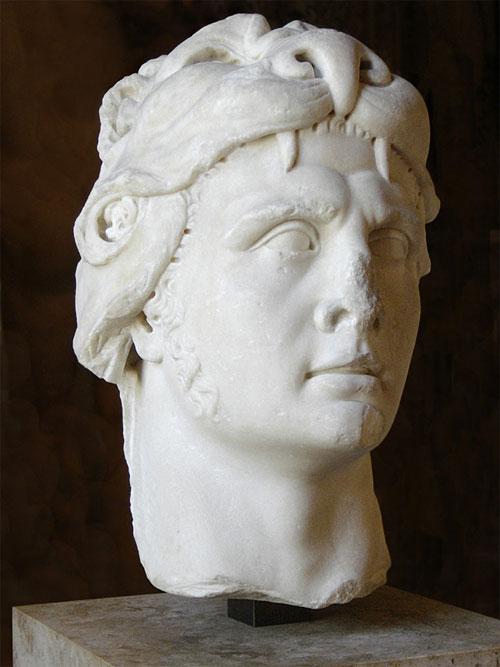 Một bức tượng tạc hình Vua Mithridates VI của Đế quốc Pontus