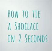 Video: Bí kíp buộc dây giày cực nhanh