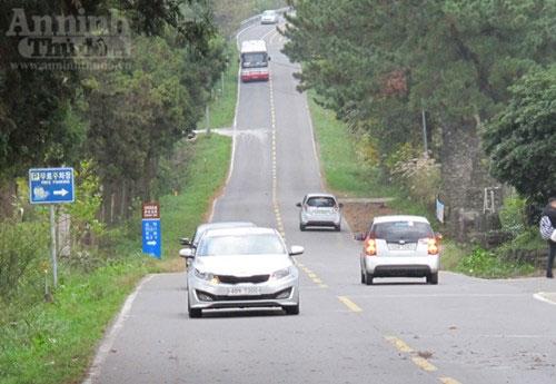 Con đường ma quái bí ẩn trên đảo Jeju - Hàn Quốc
