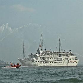 Kỹ năng thoát hiểm khi du thuyền gặp hỏa hoạn
