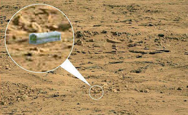 """Phát hiện """"quan tài"""" trên sao Hỏa"""