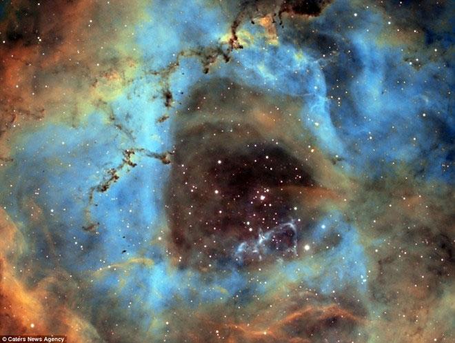 Vụ nổ siêu tân tinh ngoạn mục trong vũ trụ