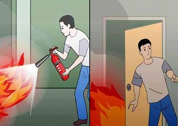 Trọn bộ bí kíp thoát thân khi gặp hỏa hoạn