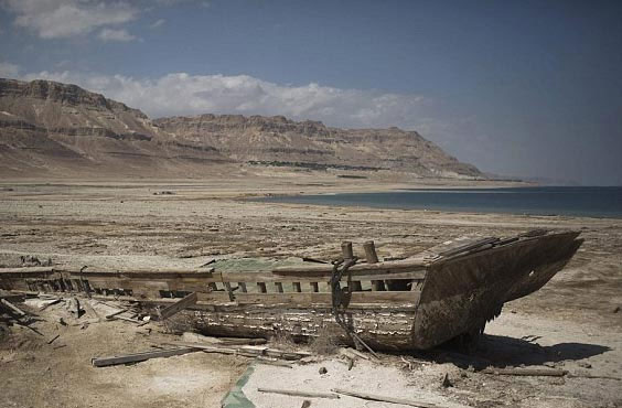 """Biển Chết đang """"chết"""" dần"""