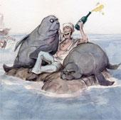 Ngày 9/1: Columbus tưởng nhầm lợn biển là nàng tiên cá