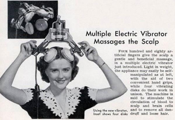 """Những dụng cụ làm đẹp """"gây điên đảo"""" đầu thế kỷ 20"""