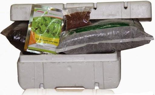 Cần chuẩn bị đầy đủ dụng cụ cho kỹ thuật trồng cây, rau sạch tại nhà.