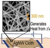 Trình làng vải siêu giữ nhiệt bằng sợi bạc