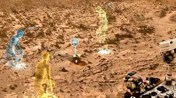 Phần mềm 3D của Microsoft sẽ được dùng để khám phá Sao Hỏa