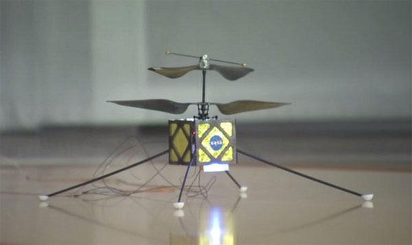 NASA phát triển drone trực thăng thám hiểm Sao Hỏa