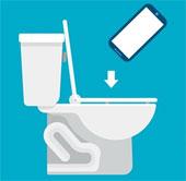 Khảo sát thói quen dùng smartphone khi đang trong toilet
