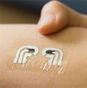 Hình xăm tạm giúp đo đường huyết không cần lấy máu