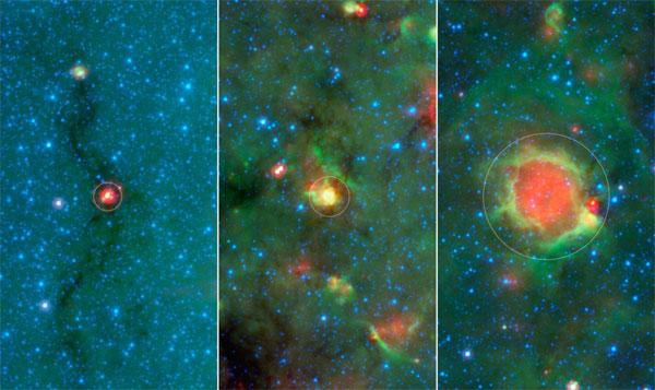 Phát hiện quả bóng vàng bí ẩn trong vũ trụ