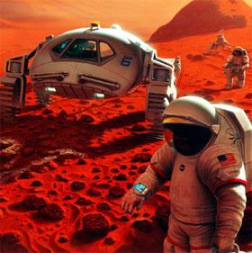 Du hành tới sao Hỏa biến cơ thể người trẻ thành người già?