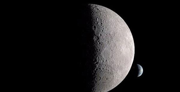"""Ảnh chụp """"vùng tối vĩnh cửu"""" bí ẩn trên Mặt trăng"""