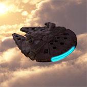 Video: Xem chiếc phi thuyền Millennium Falcon ngoài đời thực