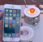 Video: Điều gì xảy ra khi rót vài giọt nhôm nóng chảy lên iPhone 6?