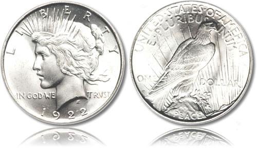 """Đồng bạc """"hòa bình"""" của Mỹ"""