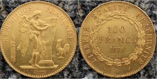 Đồng vàng thiên thần của Pháp