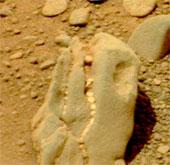 Vật thể hình sọ khủng long trên sao Hỏa
