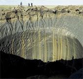"""Phát hiện bốn miệng hố khổng lồ ở """"nơi tận cùng thế giới"""""""